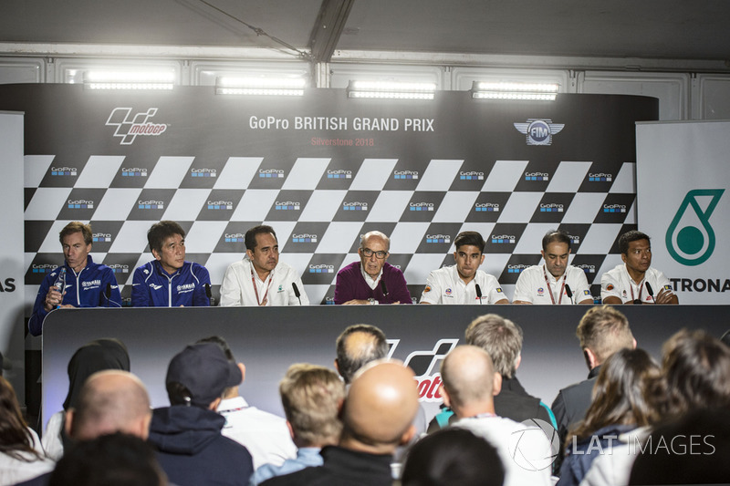 Petronas Yamaha Sepang Racing Team press conference