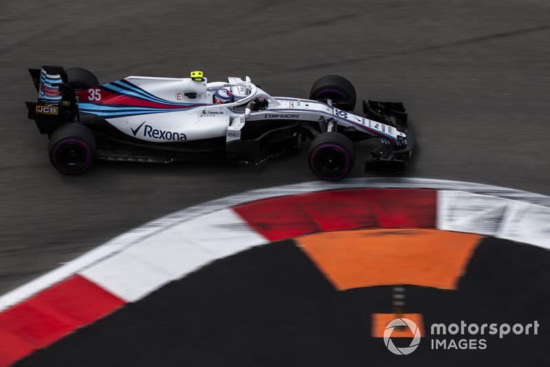 21 місце — Сергій Сироткін, Williams — 1