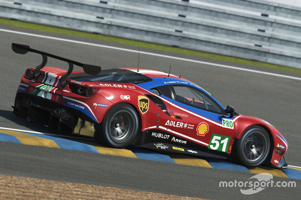 Ferrari aux 24H du Mans virtuelles