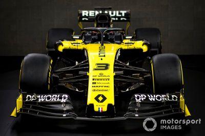 Представление ливреи Renault