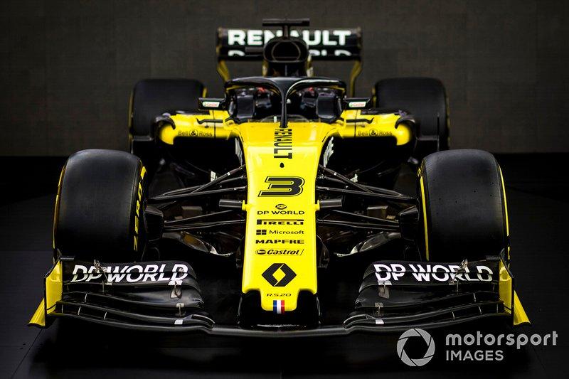 Renault presentatie livery