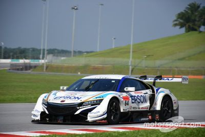 Super-GT-Test in Sepang
