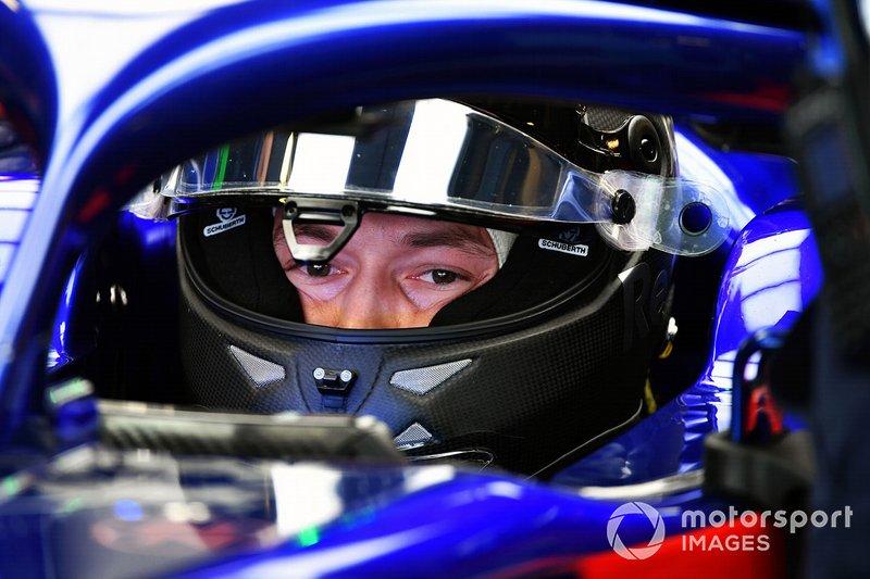Данііл Квят, Scuderia Toro Rosso STR13