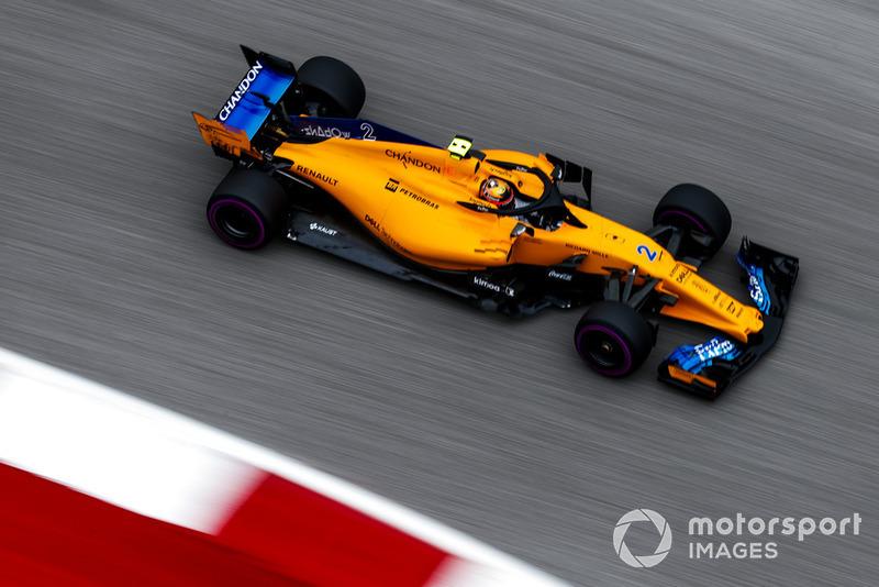 13. Stoffel Vandoorne, McLaren MCL33
