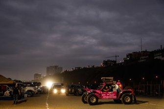 Bivouac during the Dakar