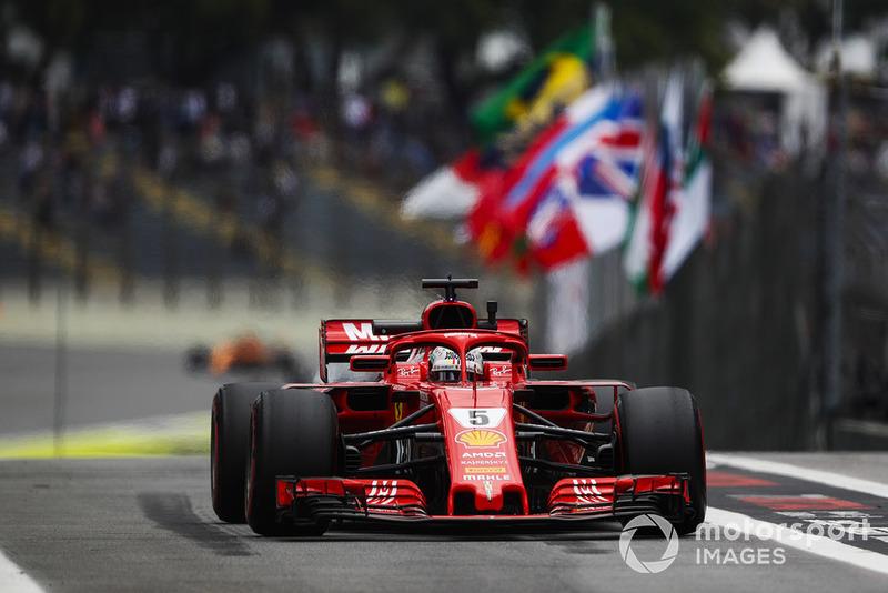El enfado de Vettel por el momento en el que le llamaron a pesaje durante la clasificación