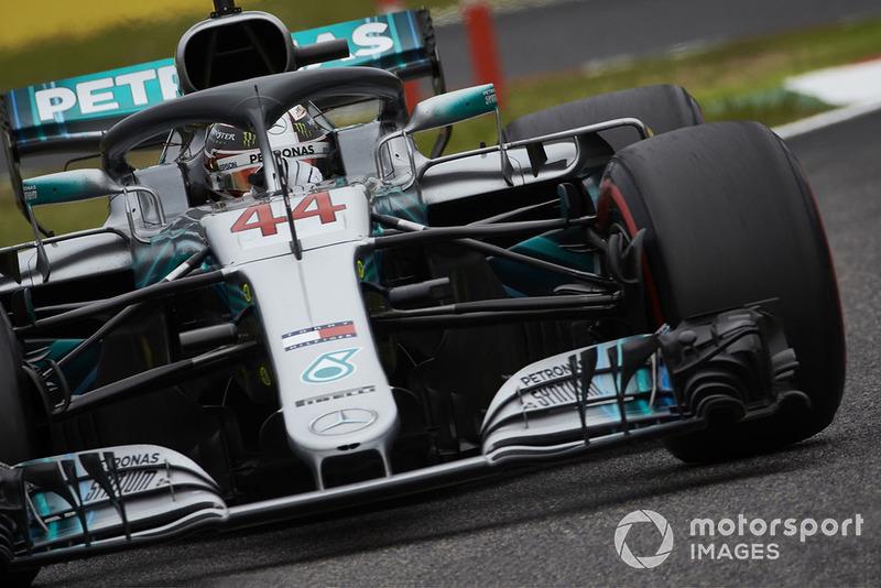 Hamilton estuvo disfrutando de un gran ritmo desde el viernes