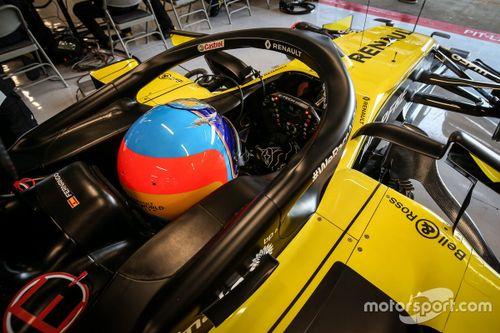 Essais Renault à Barcelone