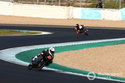 Moto3-Test in Jerez
