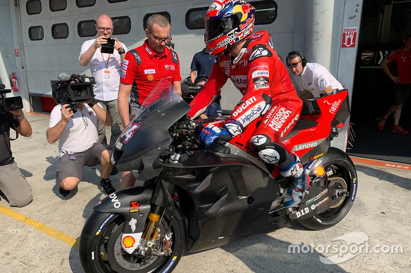 Andrea Dovizioso, Ducati Team carenado