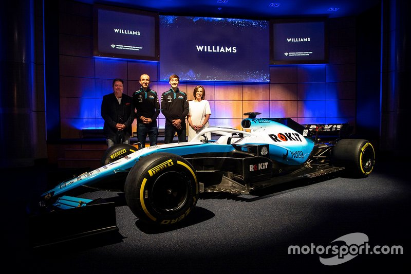 Williams Livery Launch