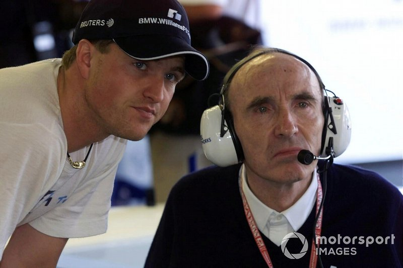 Ralf Schumacher, BMW Williams, Sir Frank Williams, directeur général de Williams