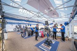 Área de Yamaha Official Rally Team