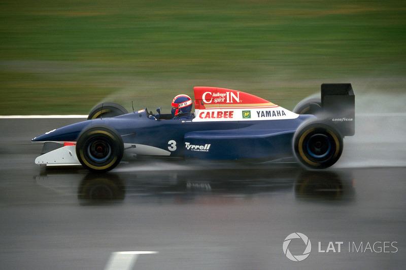 Ukyo Katayama, Tyrrell Yamaha 020C