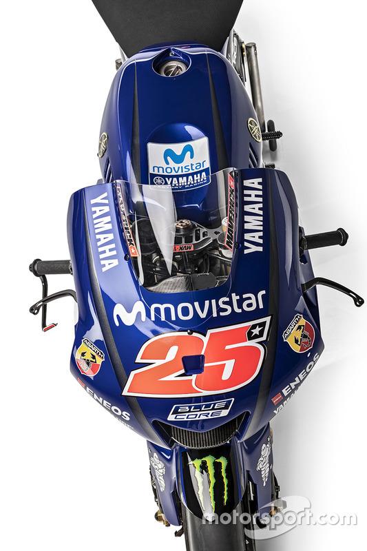Мотоцикл Маверіка Віньялеса, Yamaha Factory Racing