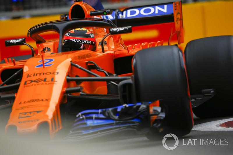 16. Stoffel Vandoorne, McLaren MCL33