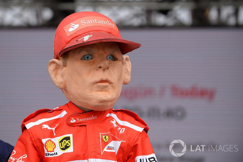 Кукла Кими Райкконена, Ferrari