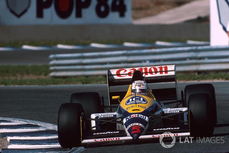 1988: Williams FW12 Judd (2 подиума, 7-е место в КК)