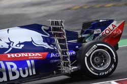 Pierre Gasly, Scuderia Toro Rosso STR13, aero sensor