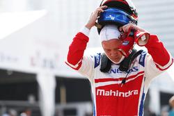 Ganador de la pole Felix Rosenqvist, Mahindra Racing