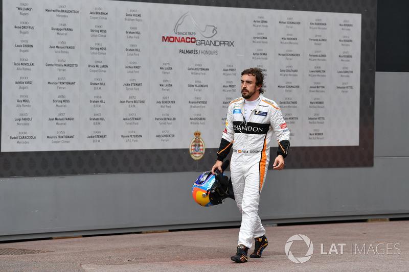 Día 3: abandono en el GP de Mónaco