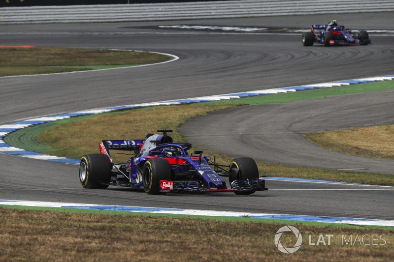 Brendon Hartley largou em 16º e fechou o top-10 do GP da Alemanha