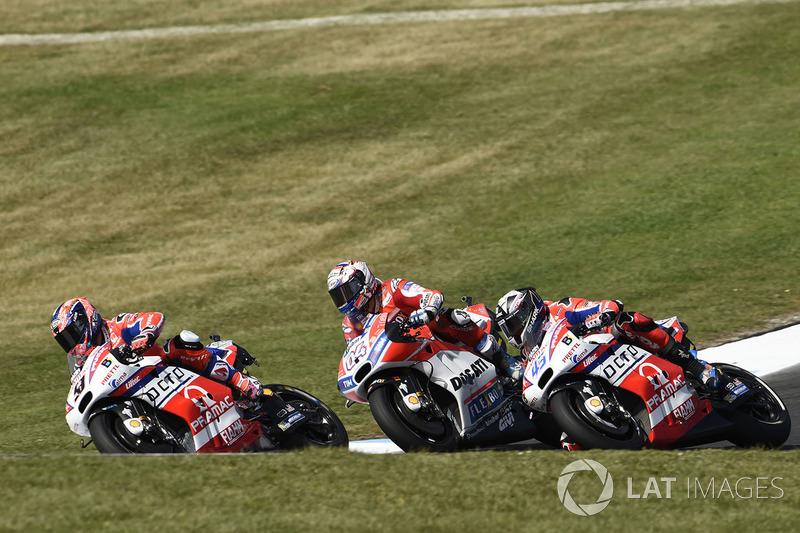 Андреа Довіціозо, Ducati Team, Скотт Реддінг, Pramac Racing
