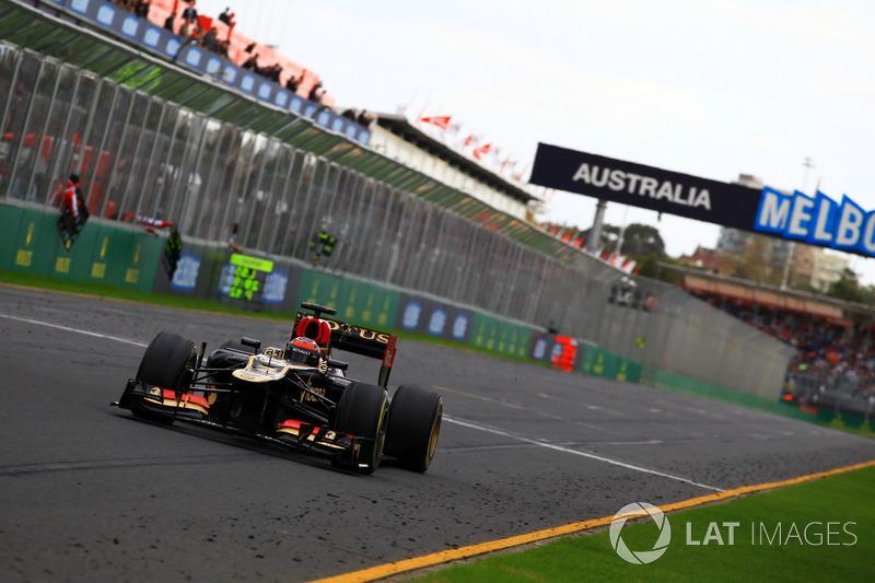 Kimi Raikkonen – 30 GPs (Austrália 2012 a Hungria 2013)