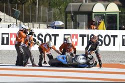 Sturz: Tito Rabat, Estrella Galicia 0,0 Marc VDS