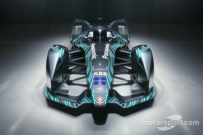 Novo carro da Jaguar Racing