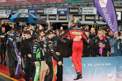 Race winners Chaz Mostert, Steven Owen, Rod Nash Racing Ford