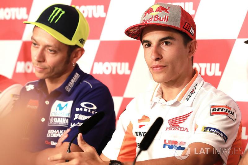 Conferencia de prensa, Marc Marquez, Repsol Honda Team, Valentino Rossi, Yamaha Factory Racing