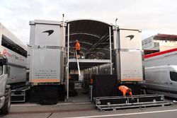 McLaren motorhome and freight