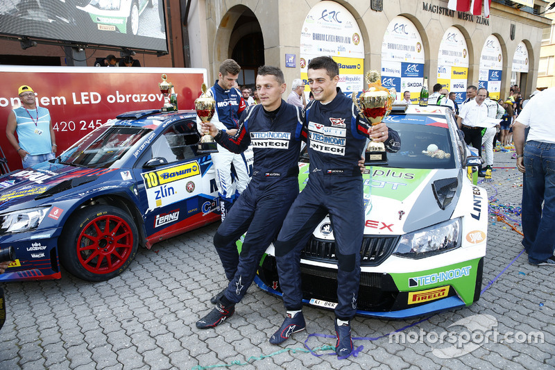 Tomáš Kostka e Ladislav Kučera, Rufa Sport, ŠKODA Fabia R5,