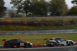 #801 Phoenix Racing, Audi RS 3 LMS: Jordi Gené, Kelvin van der Linde; #802 Phoenix Racing, Audi RS 3 LMS: Rahel Frey, Christopher Haase