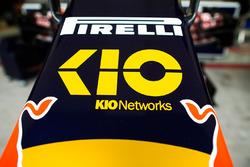 Scuderia Toro Rosso nuevo patrocinador Kio Networks