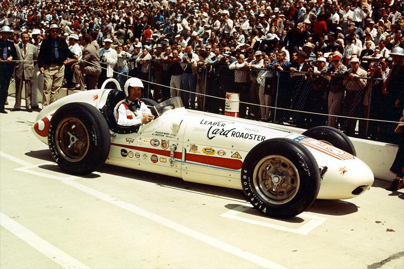 Ganador e la carrera Rodger Ward
