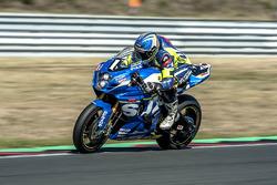 #1 Suzuki Endurance Racing Team, Suzuki GSX R 1000: Vincent Philippe, Anthony Delhalle, Etienne Mass