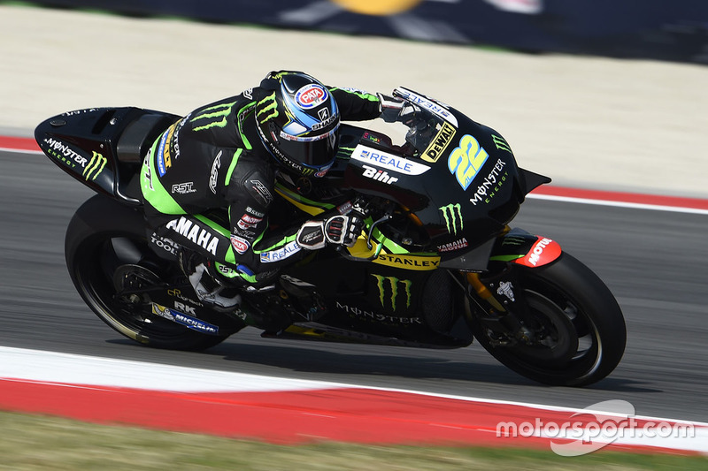 Ausfall: Alex Lowes, Tech 3, Yamaha