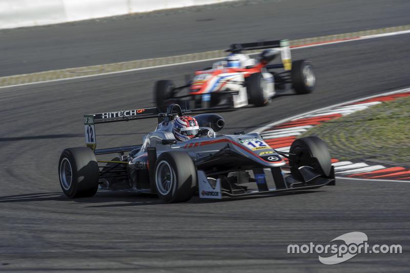 George Russell HitechGP, Dallara F312 - Mercedes-Benz
