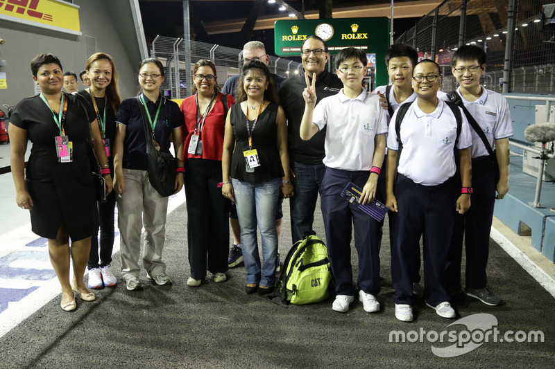 Circuit guests
