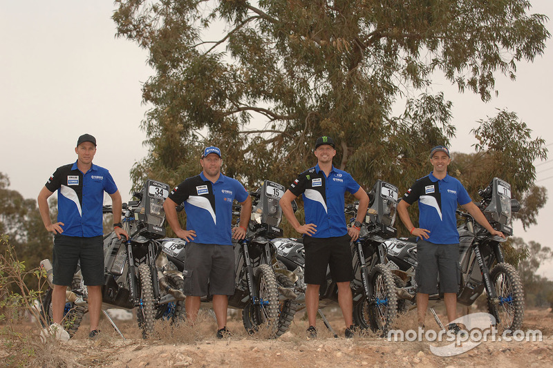 Adrien Van Beveren, Yamaha; Rodney Faggotter, Yamaha; Alessandro Botturi, Yamaha; Helder Rodrigues, Yamaha
