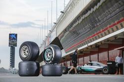 Шины Pirelli 2017 и 2016 годов