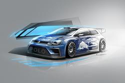 Design Volkswagen Polo WRC 2017
