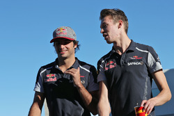 Карлос Сайнс-мл., Scuderia Toro Rosso, и Даниил Квят, Scuderia Toro Rosso