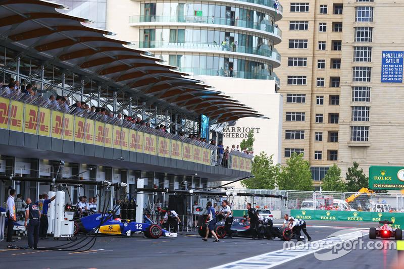 Felipe Nasr, Sauber C35 deja los pits