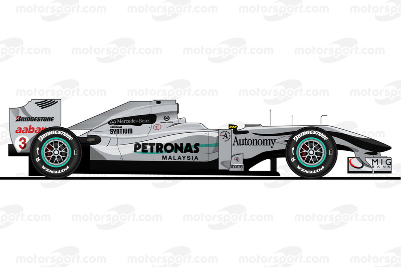 Michael Schumacher, Mercedes W01, 2010