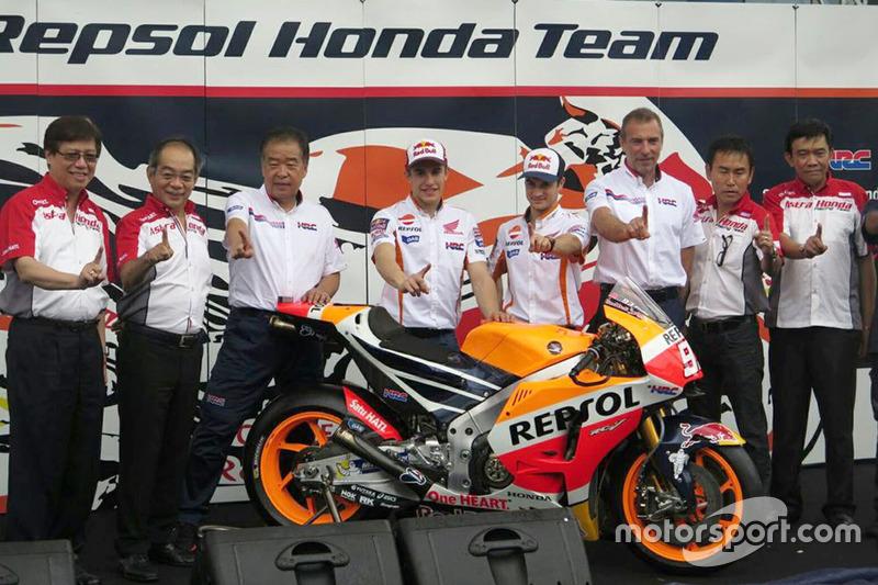 Dani Pedrosa, Repsol Honda Team, und Marc Marquez, Repsol Honda Team