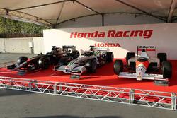 McLaren Honda MP4-30, Honda RA108, McLaren Honda MP4/5 of Ayrton Senna