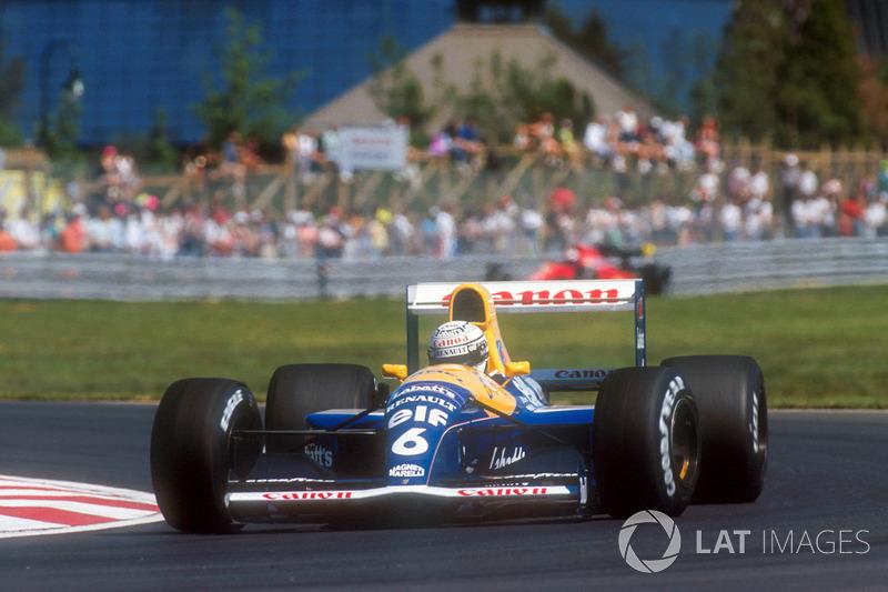 Рикардо Патрезе, Williams FW14 Renault